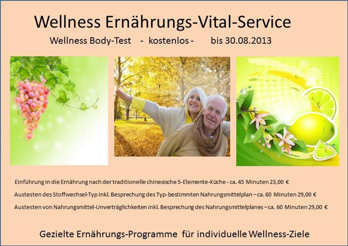 Wellness Ernährungs-Vital-Service